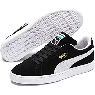 cd18480a8e6d05 Amazon.com  PUMA Suede Classic Leather Formstrip Sneaker