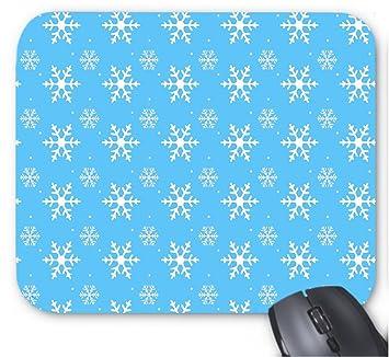 Plantillas de Patrones de Copos de Nieve para Imprimir, Mouse Pad de 7x8.66 Pulgadas: Amazon.es: Electrónica