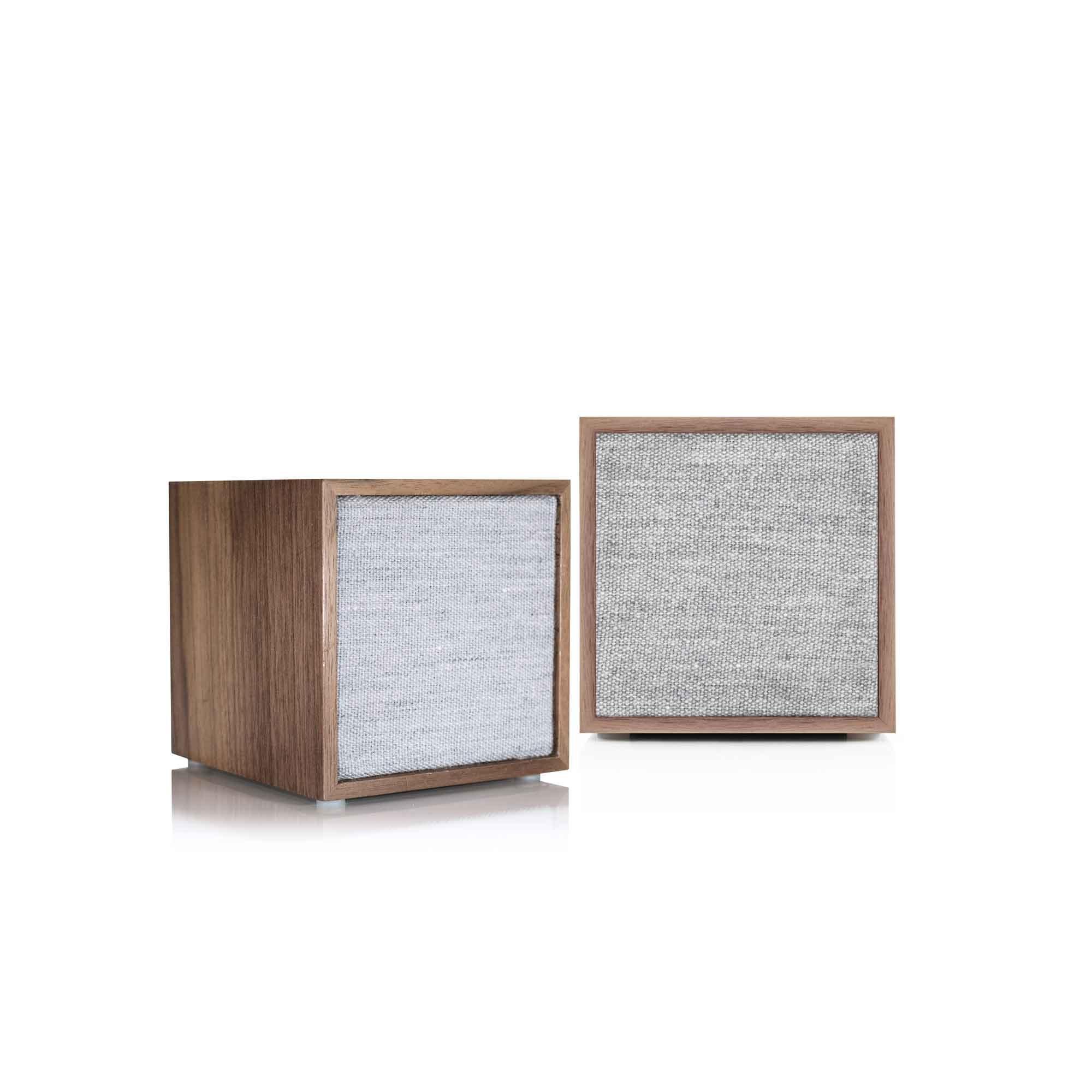 Tivoli Audio Cube Stereo in Walnut