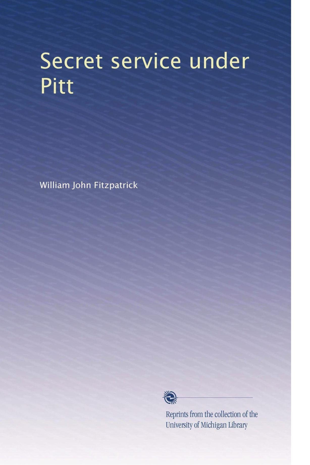 Secret service under Pitt ebook
