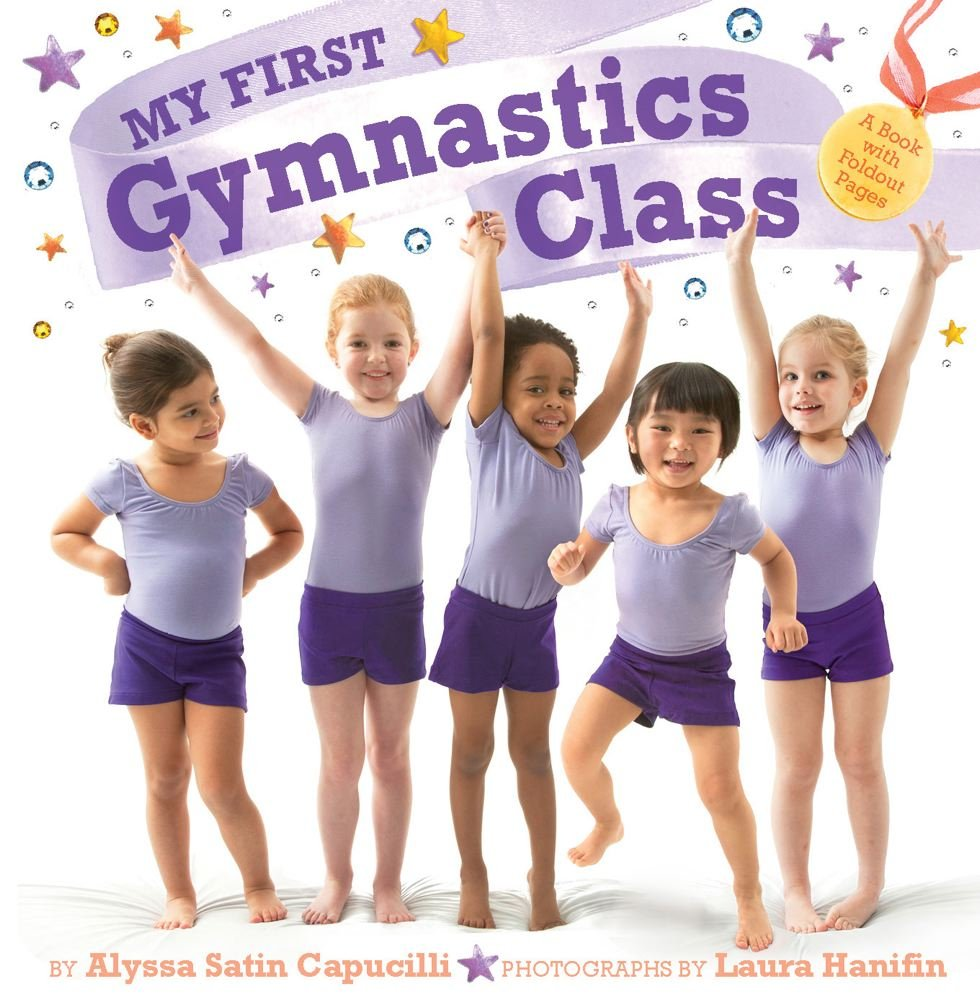 Download My First Gymnastics Class: A Book with Foldout Pages ebook