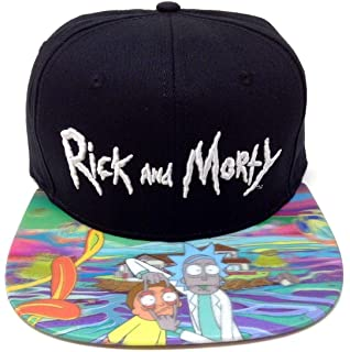 300c01b642b Amazon.com  Rick and Morty Official Pickle Rick Printed Snapback Cap ...
