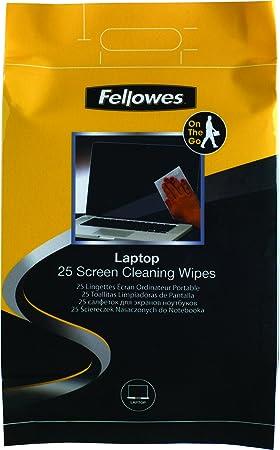 Fellowes 99674-25 toallitas húmedas de Limpieza para la Pantalla del Ordenador portátil: Amazon.es: Informática