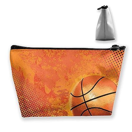 Baloncesto y rayas Bolsas de viaje de cosméticos para mujer ...