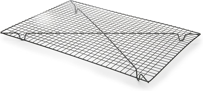 Fox Run 4682 Non-Stick Cooling Rack, Iron, 12.5-Inch x 18-Inch