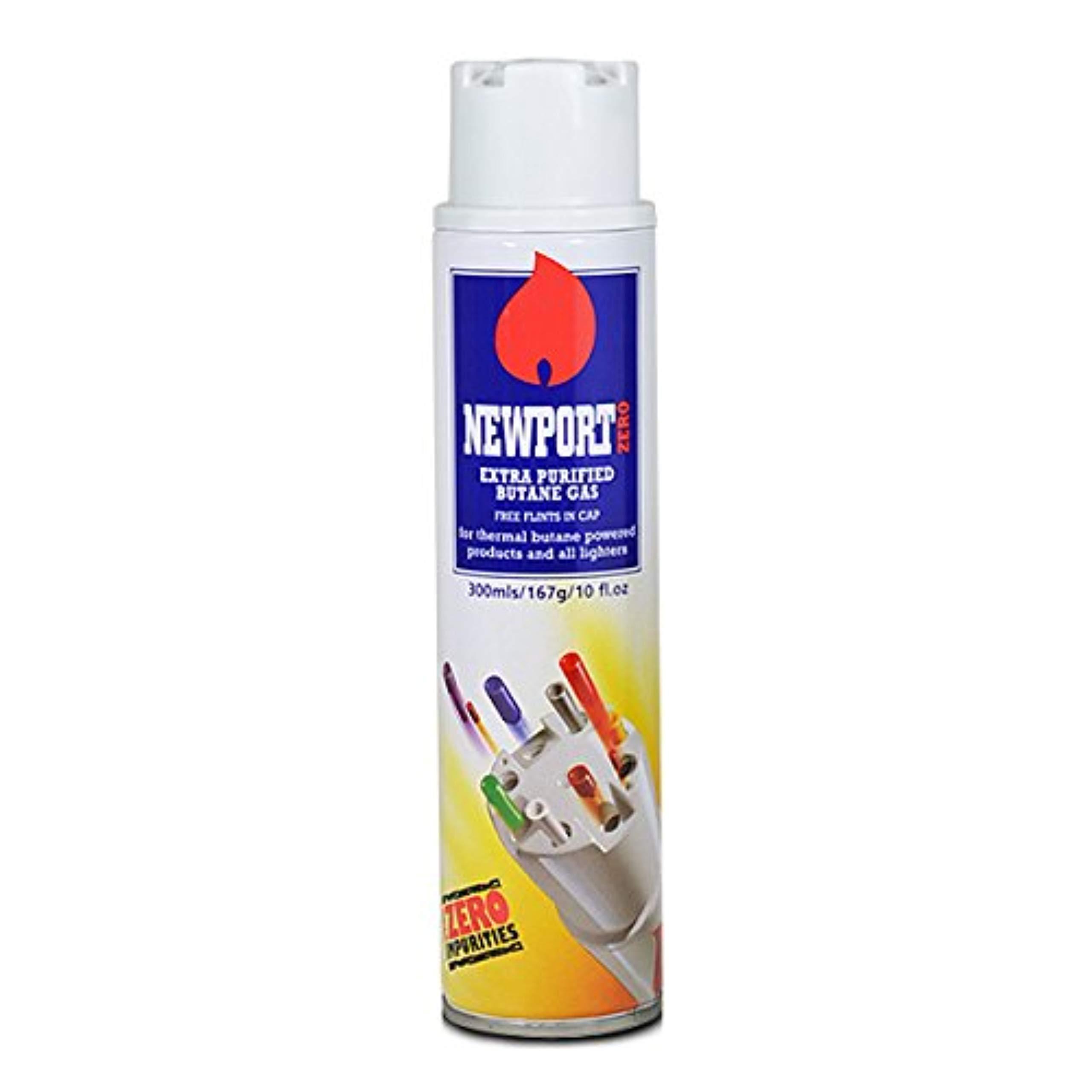 1 can of Newport 300ml Ultra Purified Butane Fuel Zero Impurities