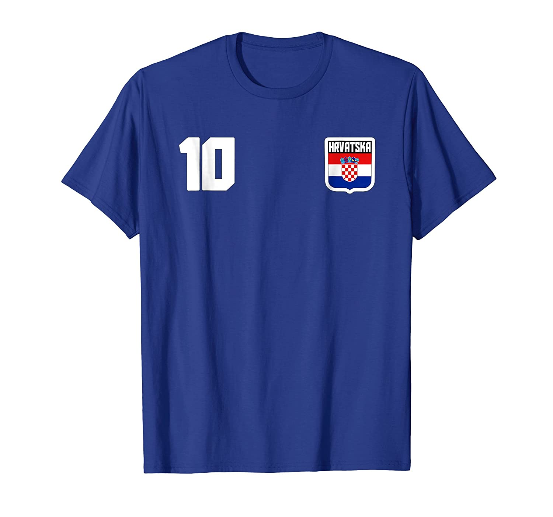 HRVATSKA T-shirt Croatia Croatian Soccer Football Jersey-fa