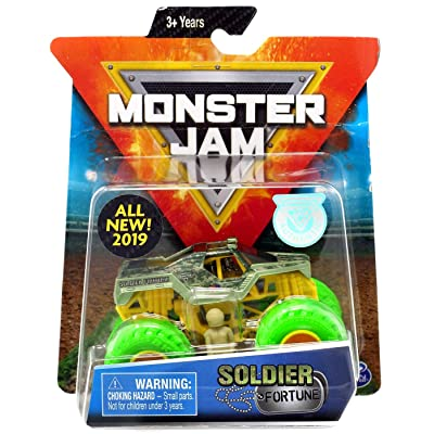 Monster Jam Soldier Fortune 1:64 New 2020: Toys & Games