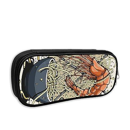 Amazon.com: Double Y Lobster Ramen Pencil Case Pouch Bag ...