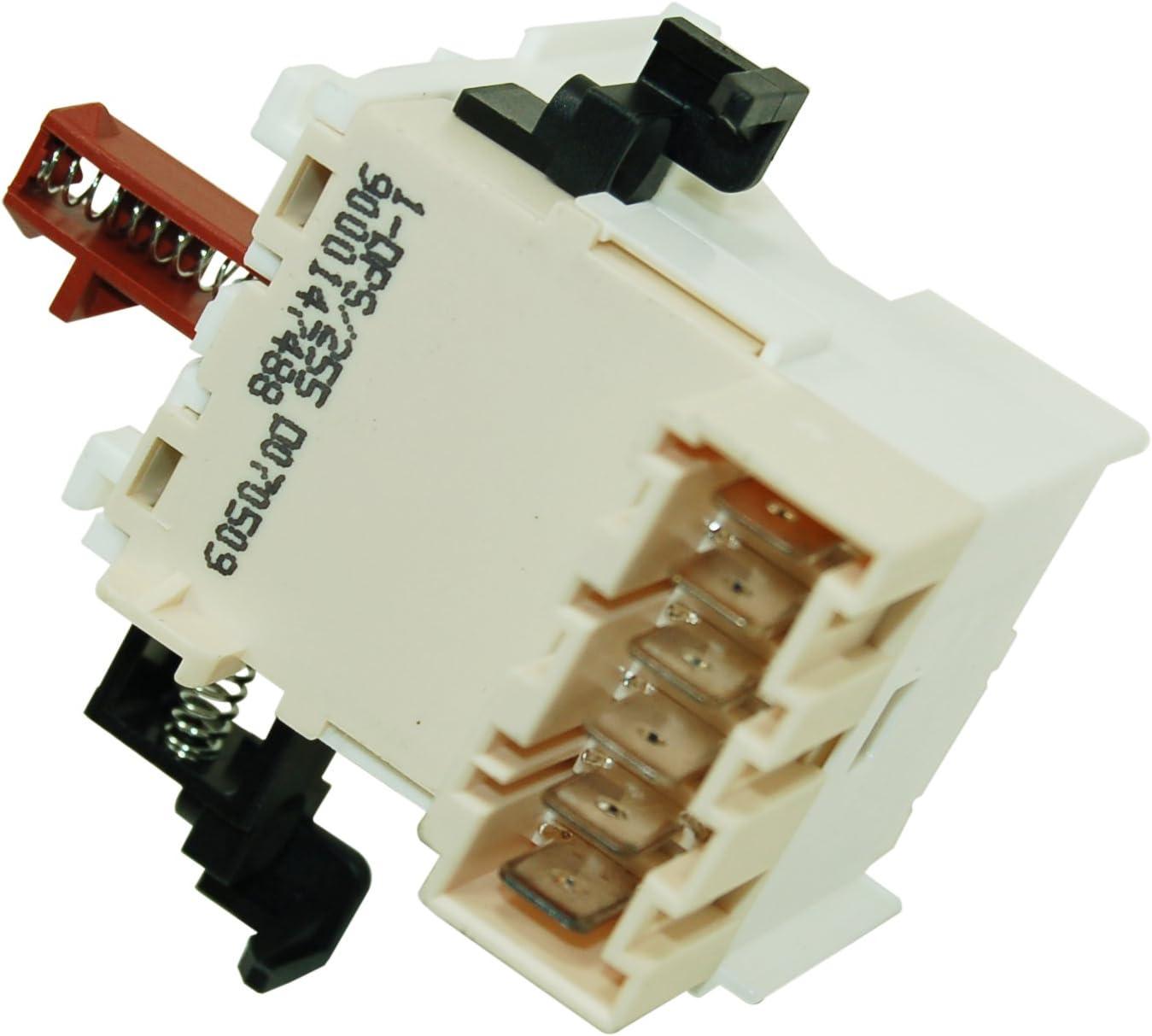 Interruptor de encendido y apagado de lavavajillas Bosch: Amazon ...