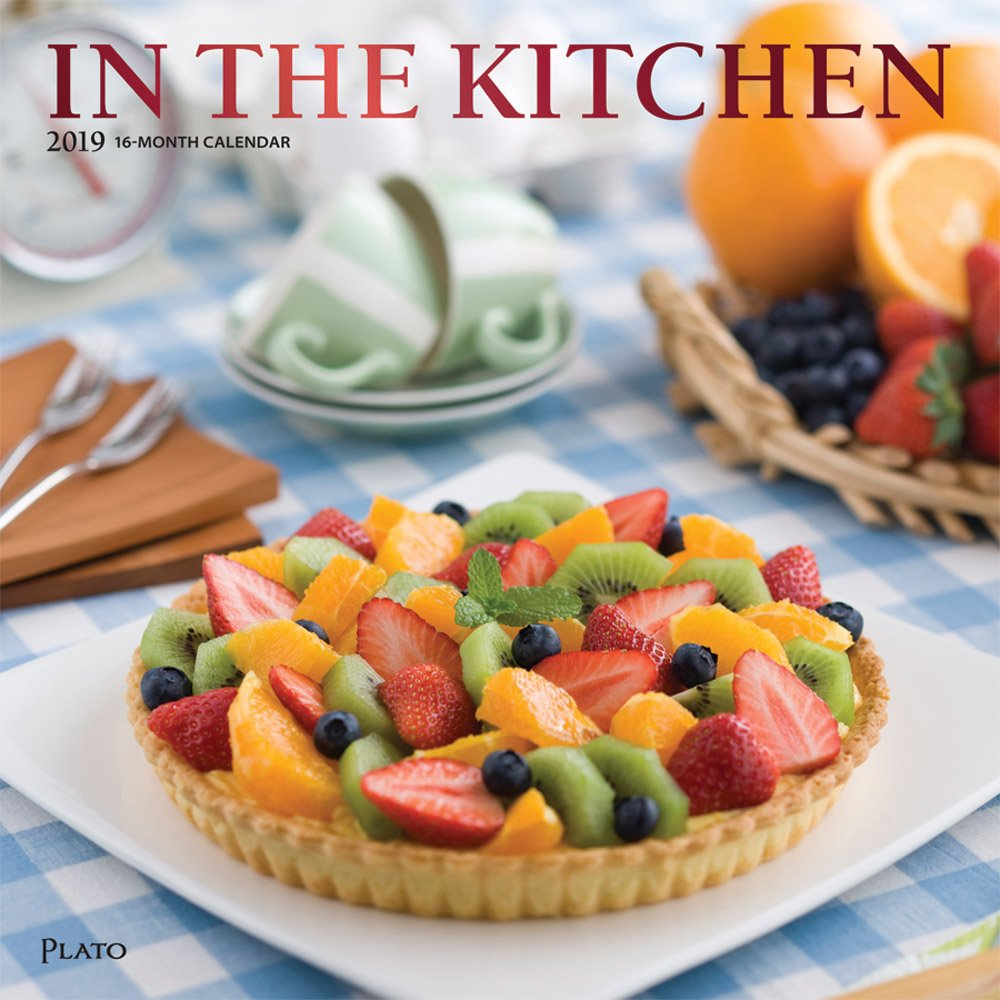 In the Kitchen 2019 12 x 12 Inch Monthly Square Wall Calendar with Foil Stamped Cover by Plato, Home Cooking Food (Multilingual Edition) (Multilingual) Calendar – Wall Calendar, June 1, 2018 Inc. BrownTrout Publishers 1465076018 General Reference