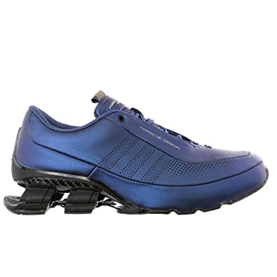 b55cc6b25 Porsche Design Adidas Bounce S4 Leather Driving Fashion Running Sneaker -  Electric Blue - Mens - 12  Amazon.co.uk  Shoes   Bags