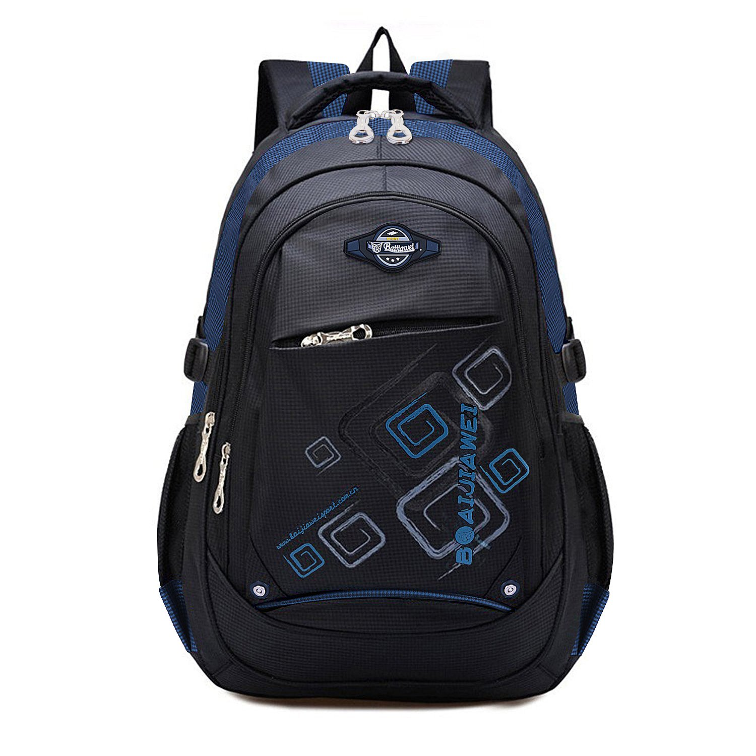 MAYZERO Waterproof School Bags Durable Travel Camping Backpacks for Boys and Girls