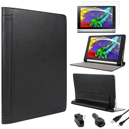 Amazon.com: BIRUGEAR Lenovo Yoga Tablet 2 10 inch Case ...