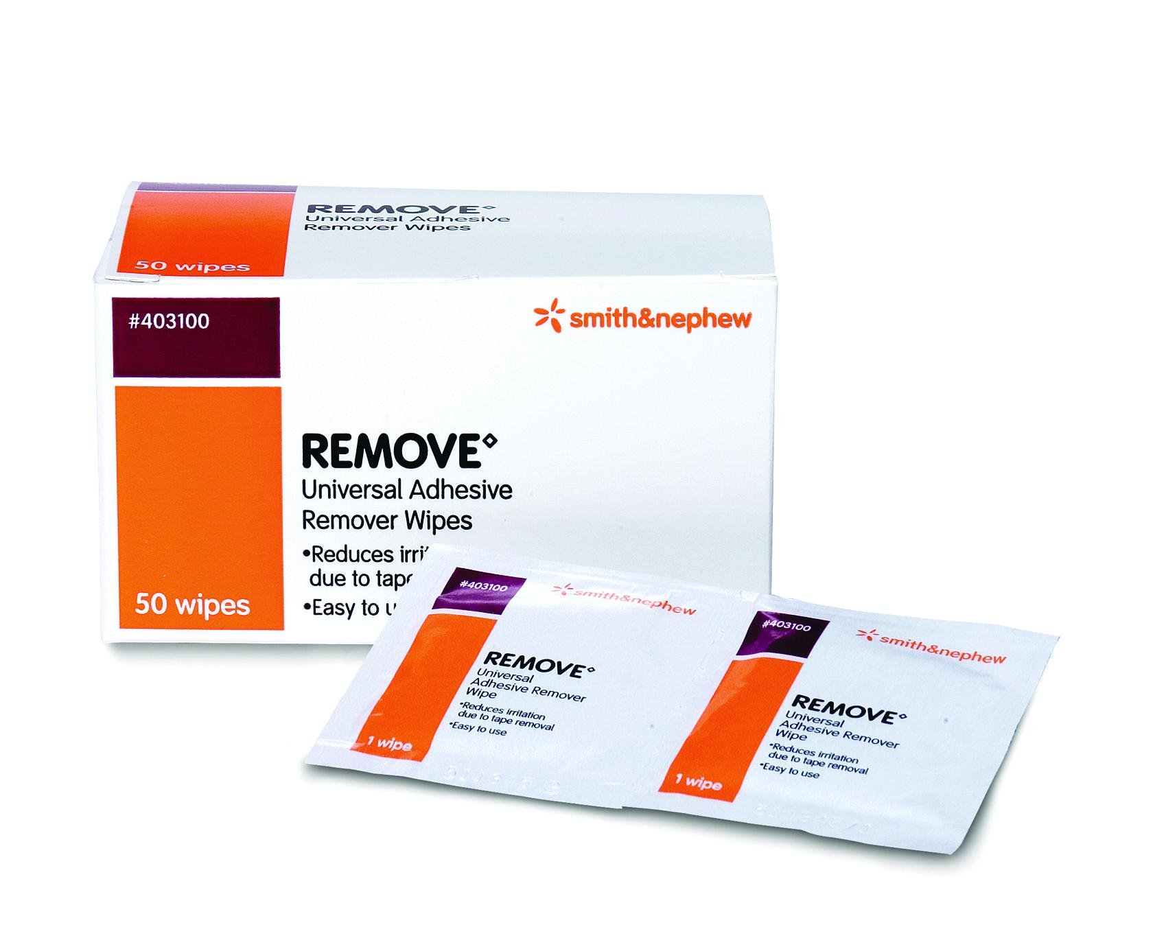Remove Adhesive Remover Wipe Case of 1000