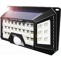 Active Era® Luz Solar LED Exterior - Luz de seguridad ultrabrillante para exteriores con sensor de movimiento de 42x LED - Impermeable (1 paquete)