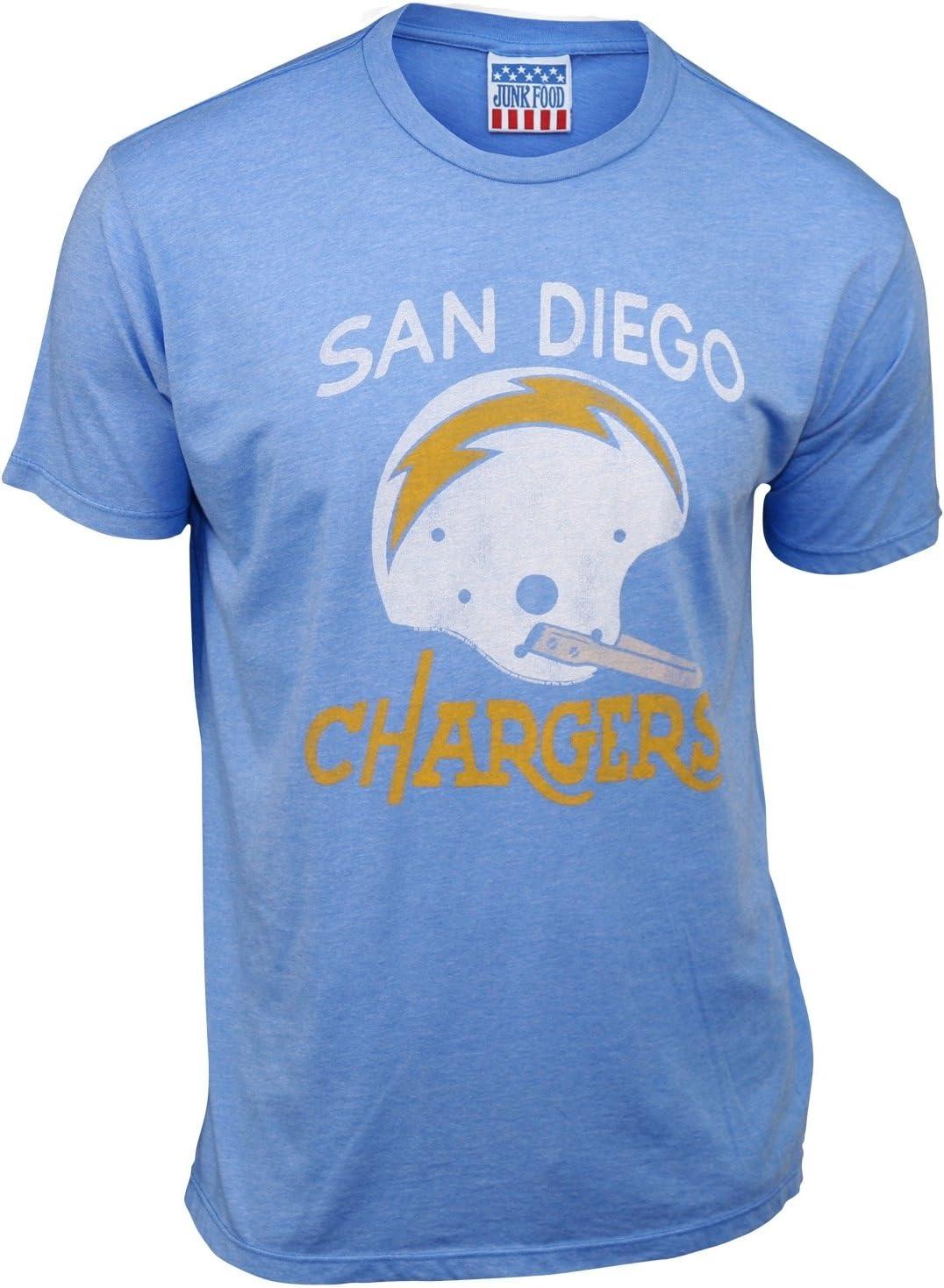 San Diego Chargers Men's Retro Vintage T-Shirt