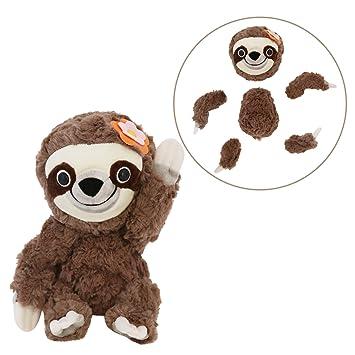 Amazon Com Animoodles Magnetic Hazel Sloth Stuffed Animal Plush