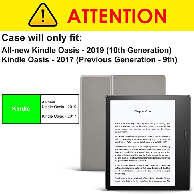 Forefront Cases Kindle Oasis 2017 9ª Generación [HD CLARIDAD ...