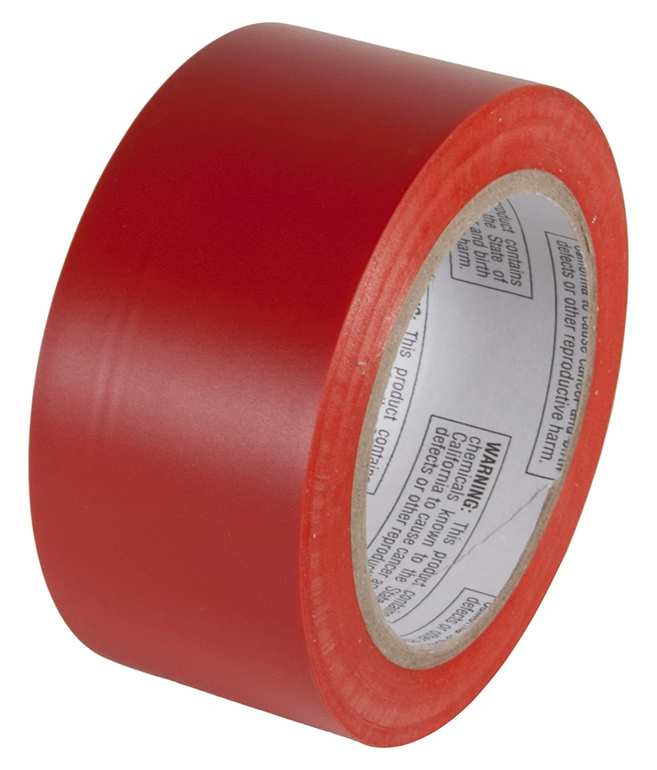 INCOM Manufacturing Group PST212 Aisle Marking Conformable Tape, 2-Inch X 108-Feet, Safety Red