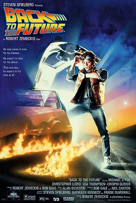 Amazon.com: (27x40) Back to the Future Michael J Fox Movie Poster: Prints:  Posters & Prints