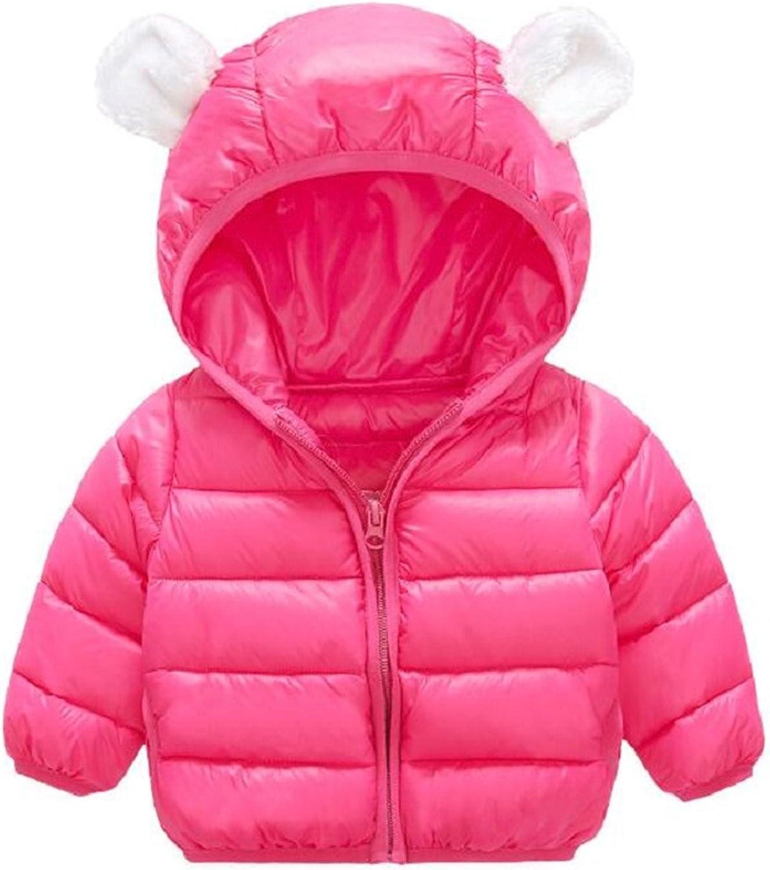 Mofgr Baby Children Winter Jacket/&Coat Boy Jacket Baby Girls Coat Warm Hooded Kids clothes