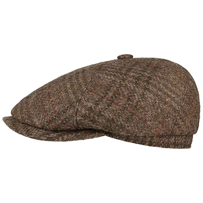 Stetson Gorra Brooklin Virgin Wool Hombre - Made in Germany Gorro ...