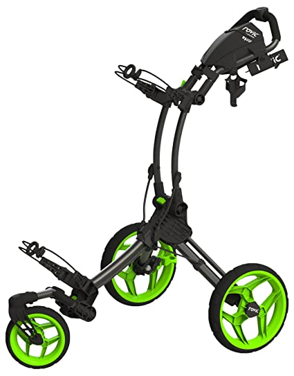 Clicgear rv1s Carrito de Golf, Unisex, CG4307003, Charcoal/Lime.
