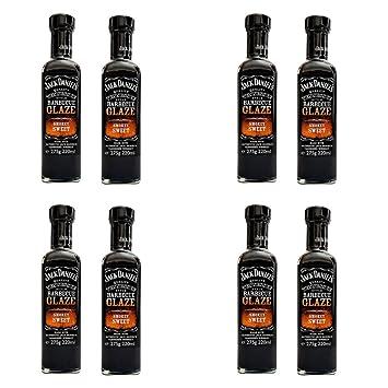 Oferta 8 Salsa Barbacoa glaseado Dulce Nido Sweet Smokey Glaze 275 gr Jack Daniel s
