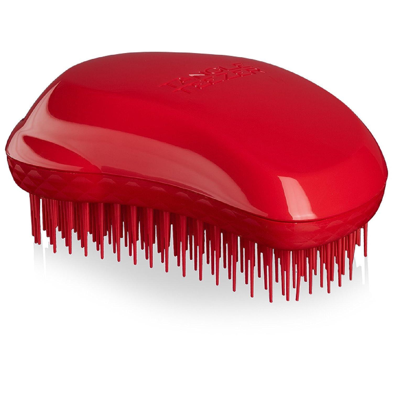 Tangle Teezer Thick and Curly Detangling Hairbrush, Salsa Red Tangle Teezer Ltd TC-CR-010617