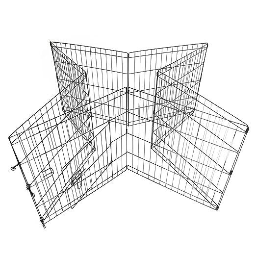 Amazon Com Ridgeyard Portable 30 Inch 8 Panels Animal Pen Dog Cat
