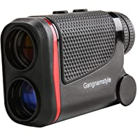 GangnamStyle Golf Rangefinder with Flag-Lock/Distance/Speed/Angle/Height Measurement, ± 0.3M Precision, 6X Magnification, Golf Distance Finder for Golf Sports, Hunting, Climbing, Archery