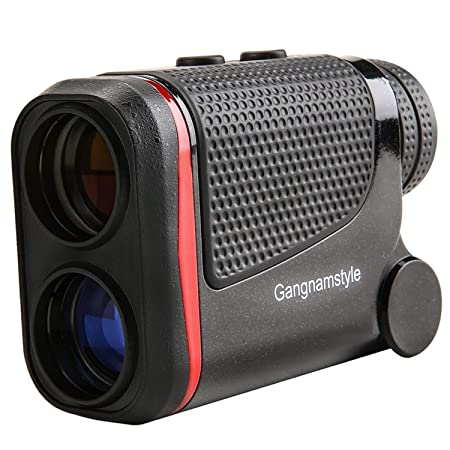 GangnamStyle Golf Rangefinder with Flag-Lock Distance Speed Angle Height Measurement, 0.3Yard Precision, 6X Magnification, Golf Distance Finder for Golf Sports, Hunting, Climbing, Archery