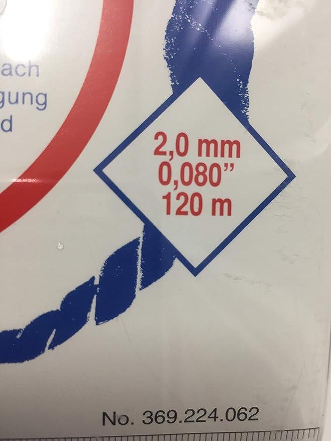 Makita 369224070 - Hilo de nylon 2.4mm x 15m para ...