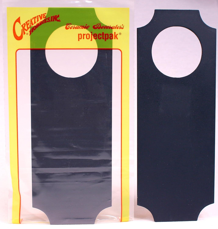 Amazon.com : Creative Hobbies Synthetic Chalkboard Door Hanger ...