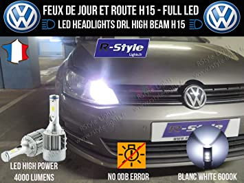 Bombillas LED H15 – Golf 7