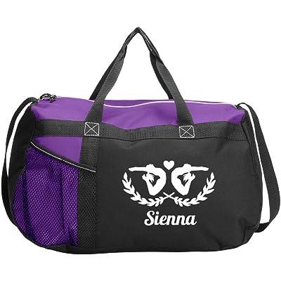 Personalized Gymnastics Bag Sienna: Gemline Sequel Sport Duffel Bag