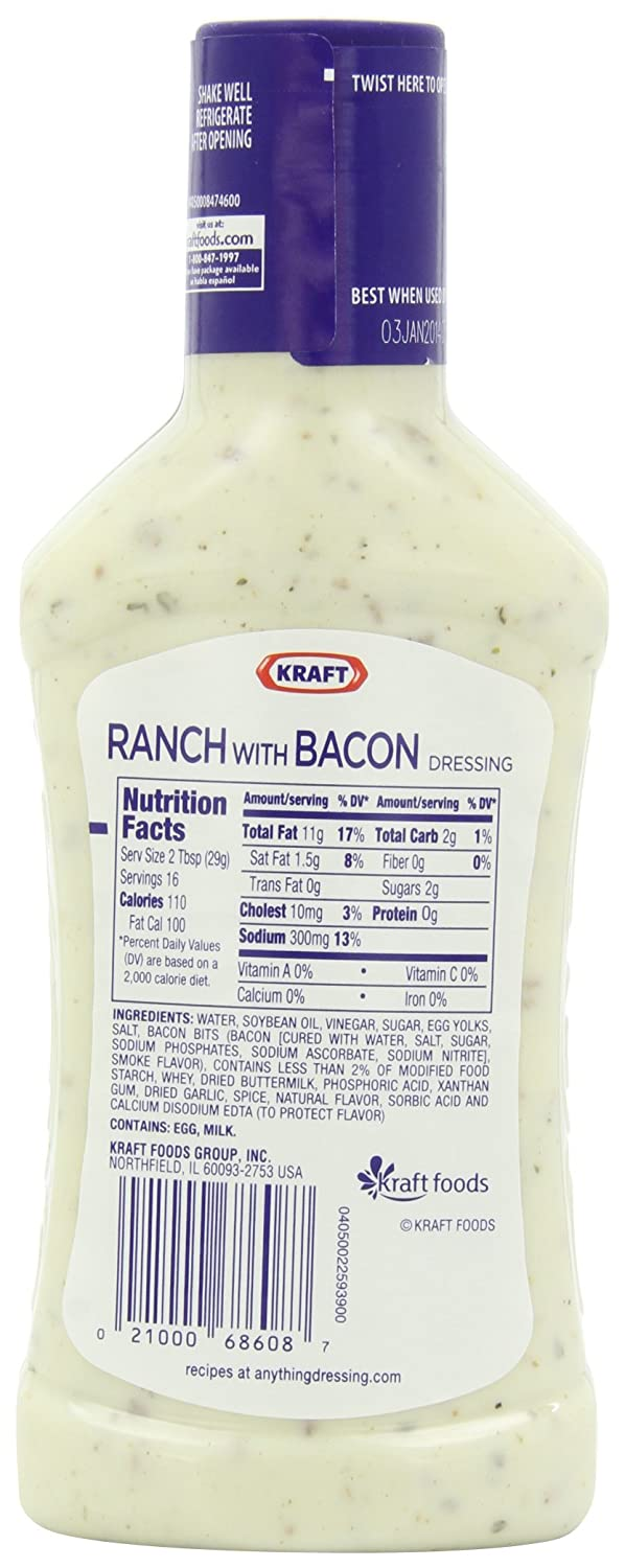 recipe: kraft classic ranch dressing ingredients [30]