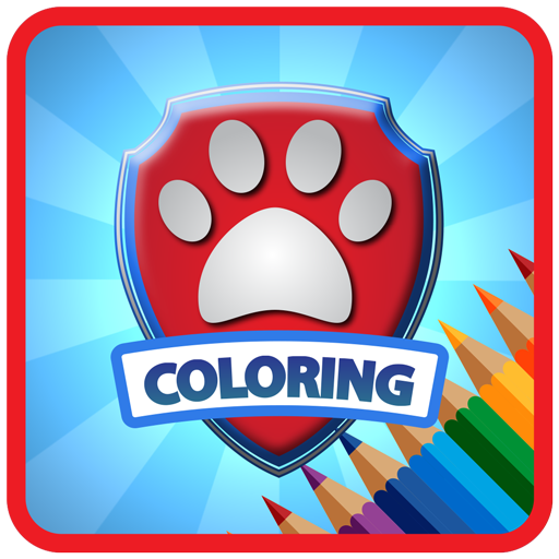 Dog Police Coloring free -