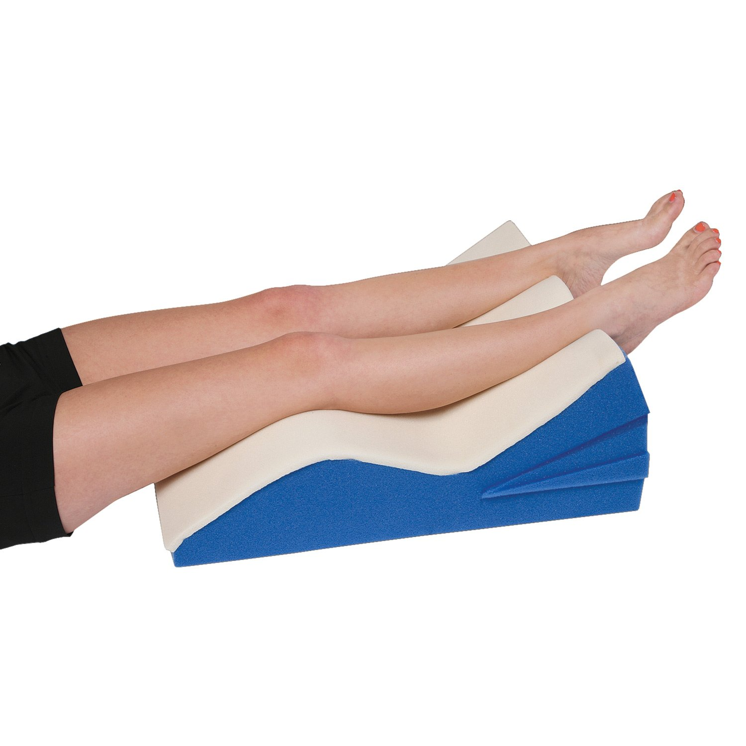Adjustable Leg Lifter Cushion with Cover - Wedge Pillow