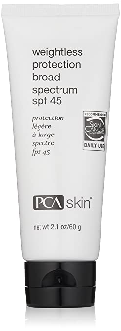 PCA SKIN Weightless Protection Broad Spectrum spf 45 , 2.1 oz.