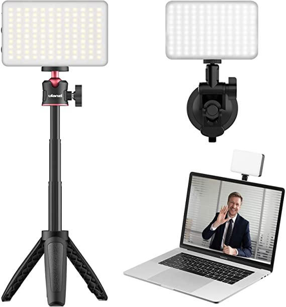 Zoom Call Light ULANZI Laptop Light for Video Conferencing