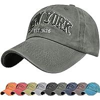 Tuopuda Gorra de Beisbol Sombrero de Gorra Ajustable con Bordado Now York Gorra de Algodón Vintage Sombrero de Sol de…