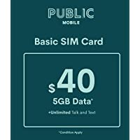 Public Mobile SIM Card for Unlocked Phones (GSM)