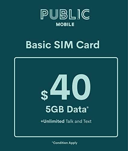 Carte Sim Cdiscount Activation.Public Mobile Sim Card For Unlocked Phones Gsm