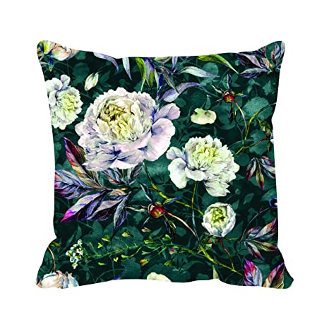 Awesome Buy Theyayacafe 20X20 Inches Cushion Cover Fantastic Floral Ncnpc Chair Design For Home Ncnpcorg