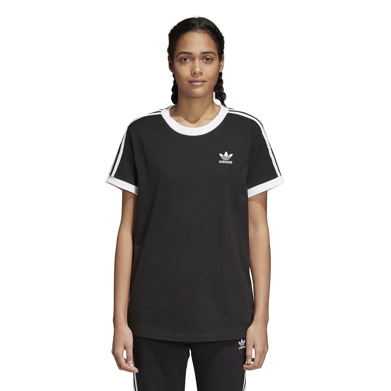 95d56cdb adidas Originals Women's 3 Stripes T-Shirt at Amazon Women's Clothing store: