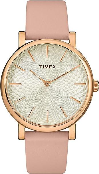 Timex Metropolitan - Reloj de pulsera para mujer (34 mm)