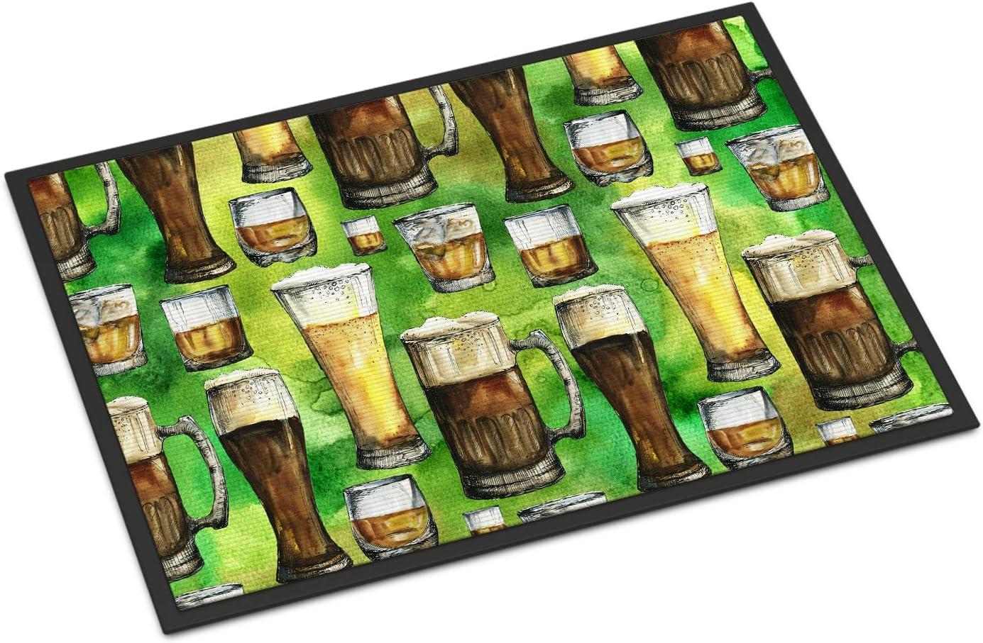Caroline s Treasures BB5758JMAT Irish Beers Indoor or Outdoor Mat 24×36, 24H X 36W, Multicolor
