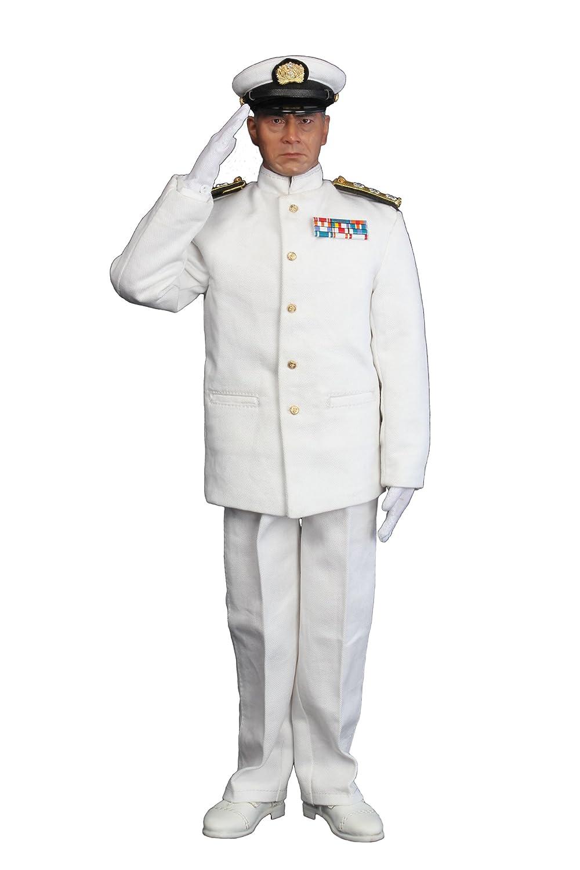 3R ×FEWTURE 三船敏郎 連合艦隊指令長官バージョン 夏服タイプ (1/6スケール アクションフィギュア) B004GUTR5Y